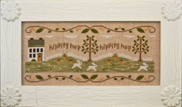 Country Cottage Needleworks Bunny Hop