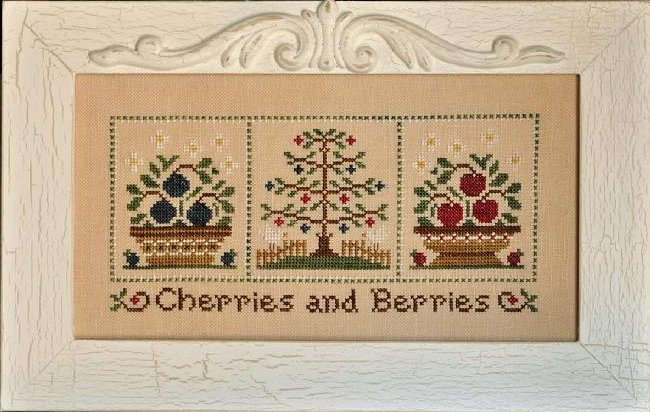 Country Cottage Needleworks Cherries And Berries