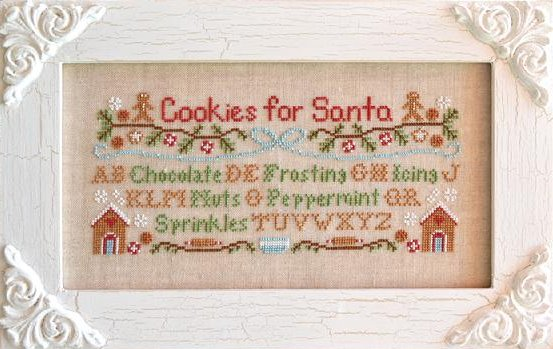Country Cottage Needleworks Cookies For Santa
