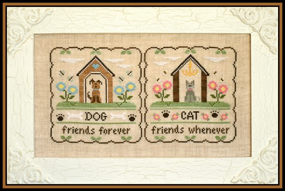 Country Cottage Needleworks Furry Friends