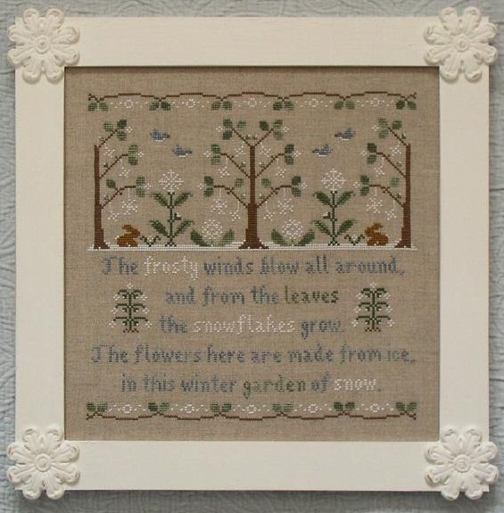 Country Cottage Needleworks Garden Of Snow