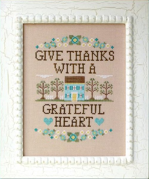 Country Cottage Needleworks Give Thanks