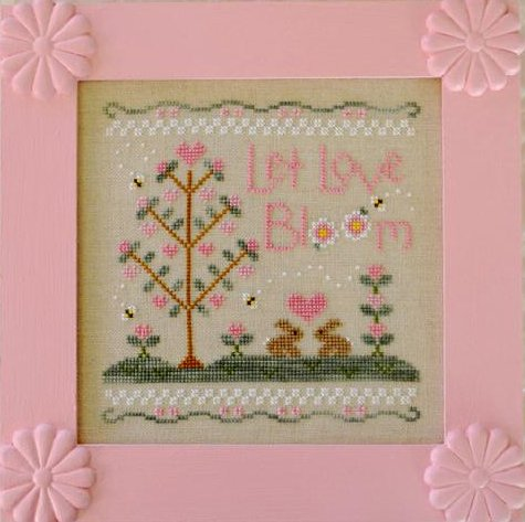 Country Cottage Needleworks Let Love Bloom