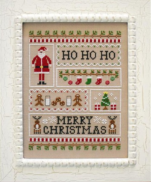 Country Cottage Needleworks Santa's Sampler