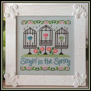 Country Cottage Needleworks Singin In The Spring