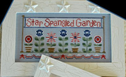 Country Cottage Needleworks Star Spangled Garden