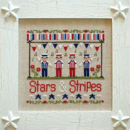 Country Cottage Needleworks Stars And Stripes