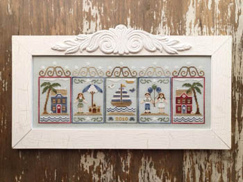 Country Cottage Needleworks Summer Seascape
