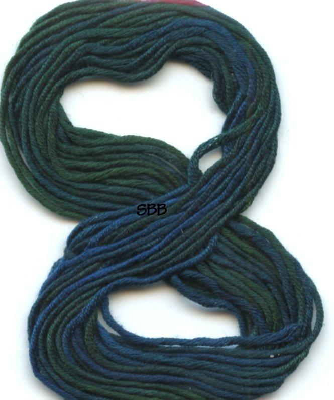 Clearance Gloriana Tudor Silk017 Deep Blue Sea