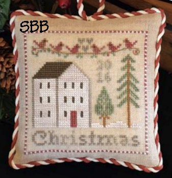 Clearance Little House Needleworks  2016 Christmas Ornament