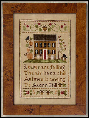 Clearance Little House Needleworks  Acorn Hill