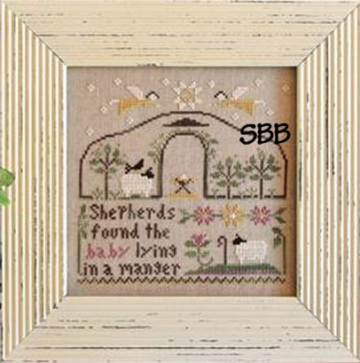 Clearance Little House Needleworks  Born in a Manger