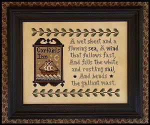 Clearance Little House Needleworks  Captain's Inn