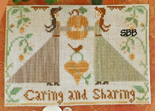 Clearance Little House Needleworks  Caring