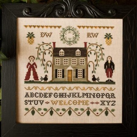 Clearance Little House Needleworks  Colonial Welcome