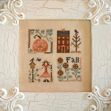 Clearance Little House Needleworks  Fall Squared