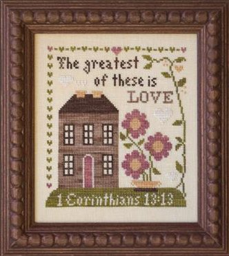Clearance Little House Needleworks  First Corinthians