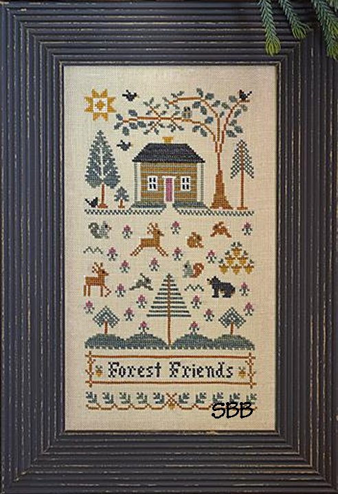 Clearance Little House Needleworks  Forest Friends