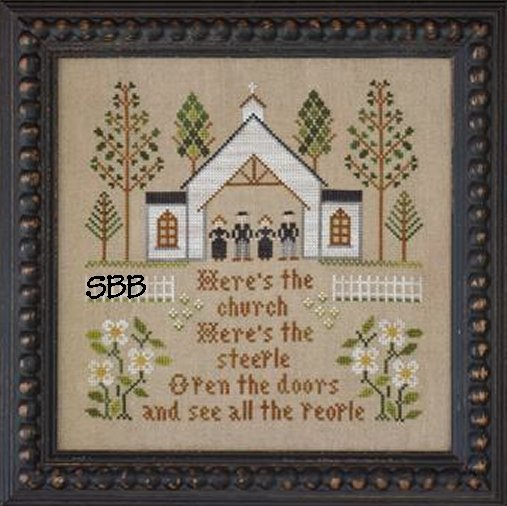 Clearance Little House Needleworks  Here's The Church
