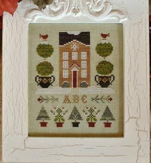 Clearance Little House Needleworks  Holiday House