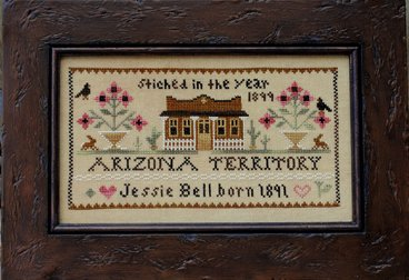 Clearance Little House Needleworks  Jessie Bell, Arizona Territory