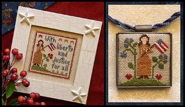Clearance Little House Needleworks  Liberty and Justice