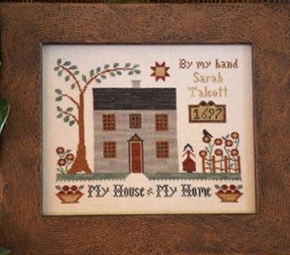 Clearance Little House Needleworks  My House - My Home