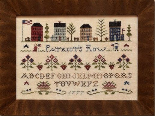 Clearance Little House Needleworks  Patriot's Row