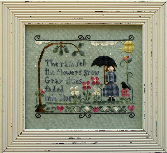 Clearance Little House Needleworks  The Rain Fell