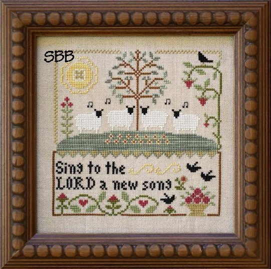 Clearance Little House Needleworks  Sing To The Lord