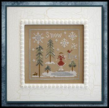 Clearance Little House Needleworks  Snow and Ice