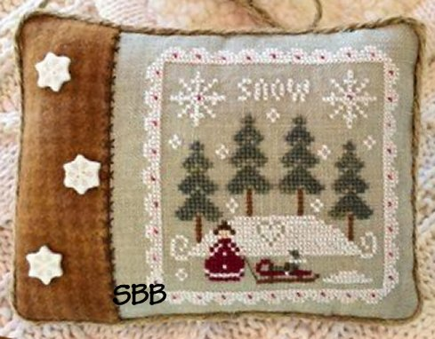 Clearance Little House Needleworks  Snowy Winter