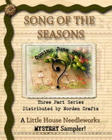 Clearance Little House Needleworks  Song Of The Seasons Mystery Sampler Part One
