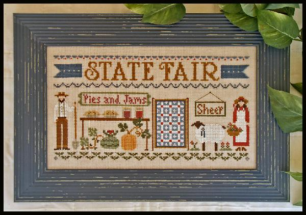 Clearance Little House Needleworks  State Fair