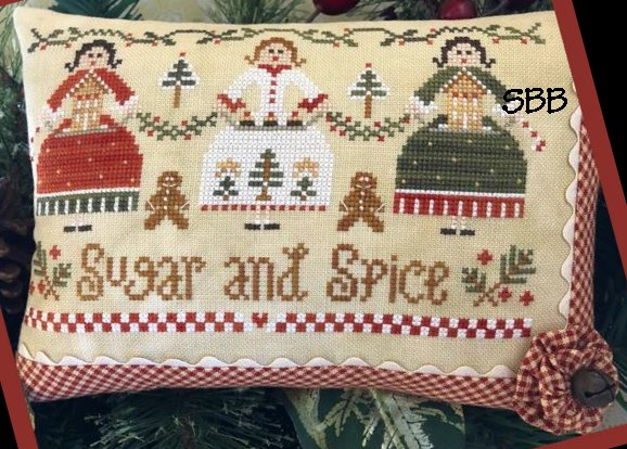 Clearance Little House Needleworks  Sugar And Spice