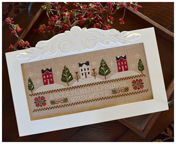 Clearance Little House Needleworks  Three Snowy Hills
