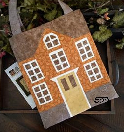 Clearance Little House Needleworks  Tote Bag