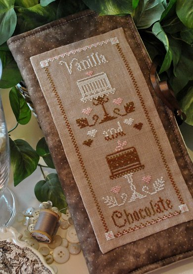 Clearance Little House Needleworks  Vanilla And Chocolate