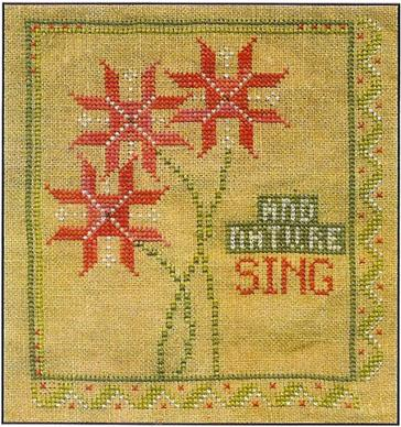 Clearance Little By Little And Nature Sing Christmas Ornament