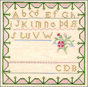 Clearance Little By Little Fancy Little Sampler