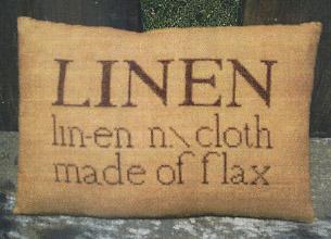 Clearance Little By Little Linen Pillow