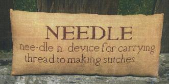 Clearance Little By Little Needle Pillow