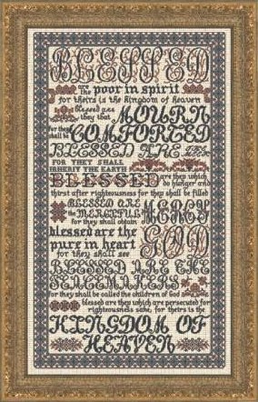 Clearance My Big Toe Designs The Beatitudes