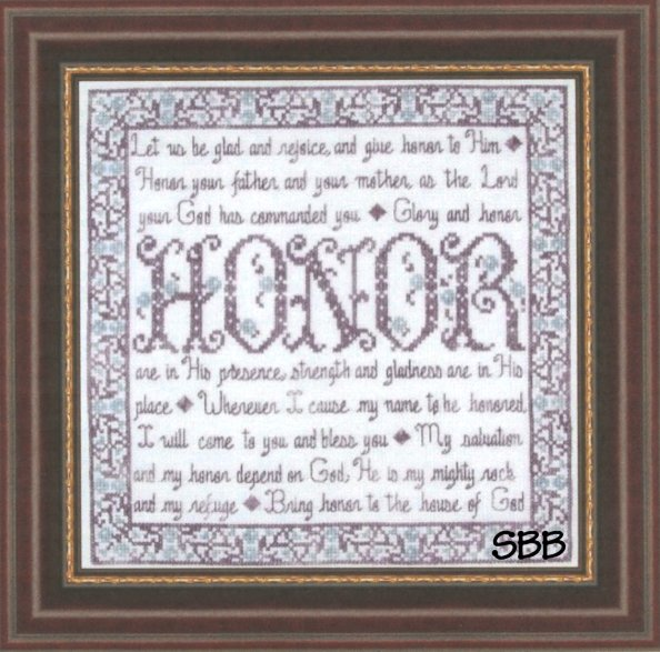 Clearance My Big Toe DesignsBuilding Blocks ~ Honor