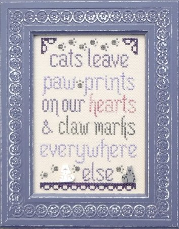 Clearance My Big Toe Designs Cats Leave Paw Prints
