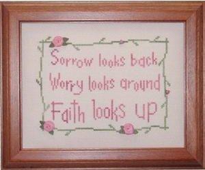 Clearance My Big Toe Designs Faith Looks Up