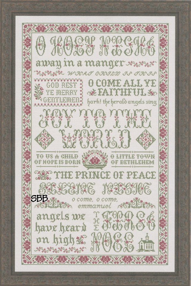 Clearance My Big Toe Designs Hymns Of Christmas