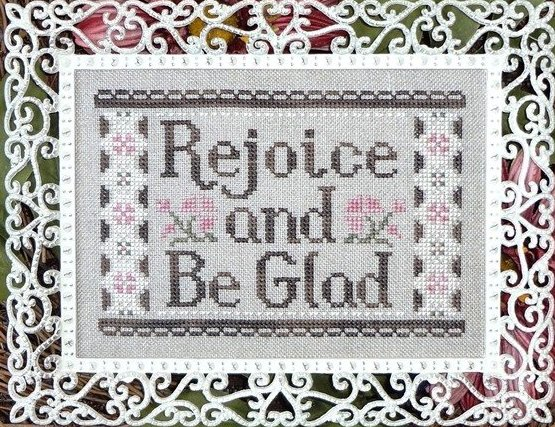 Clearance My Big Toe Designs Rejoice & Be Glad
