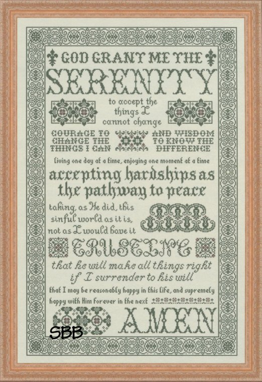 Clearance My Big Toe Designs Serenity Prayer