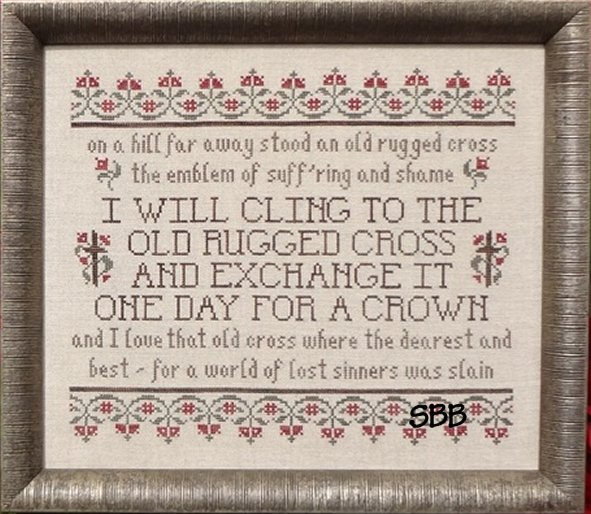 Clearance My Big Toe Designs The Old Rugged Cross